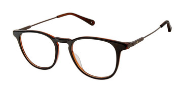 Black/Trans Sperry FAIRPOINT Eyeglasses - Teenager.