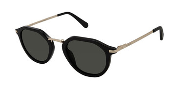 Black/Gold Sperry GALWAY Polarized Sunglasses - Teenager.