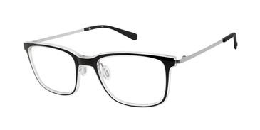 Black/Crystal Sperry HASLAR Eyeglasses.
