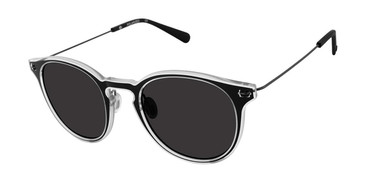 Black Crystal Sperry HAVEN Polarized Sunglasses.
