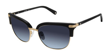 Black/Gold Sperry KATHERINE Polarized Sunglasses.