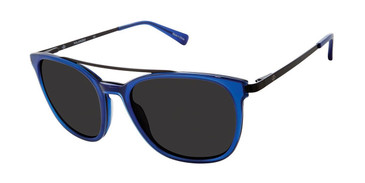 Trans Blue Sperry LEEWARD Polarized Sunglasses.