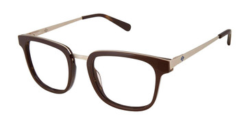 Brown/Horn Sperry LENNOX Eyeglasses - Teenager.