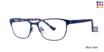 Blue Jean Kensie Girls RX Patch Eyeglasses - Teenager