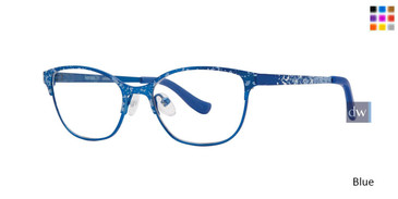 Blue Kensie Girls RX Splatter Eyeglasses - Teenager