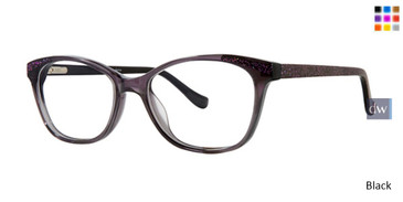 Black Kensie Dance Eyeglasses - Teenager