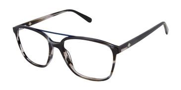 Black/Horn Sperry PIERVIEW Eyeglasses.