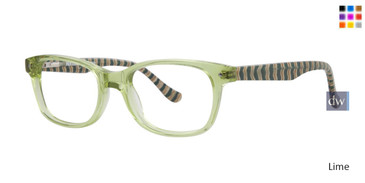Lime Kensie Stripes Eyeglasses