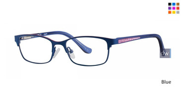 Blue Kensie Giggle Eyeglasses - Teenager