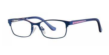 Blue Kensie Giggle Eyeglasses - Teenager