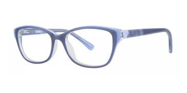 Blue Kensie Bubble Eyeglasses - Teenager