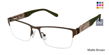 Matte Brown Sperry ROCKPORT Eyeglasses.