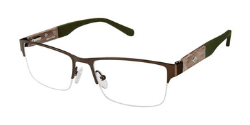 Matte Brown Sperry ROCKPORT Eyeglasses.
