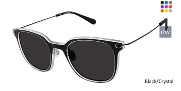 Black/Crystal Sperry SEATONS Polarized Sunglasses.