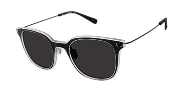 Black/Crystal Sperry SEATONS Polarized Sunglasses.
