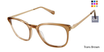 Trans Brown Sperry SHEARWATER Eyeglasses.