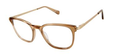 Trans Brown Sperry SHEARWATER Eyeglasses.