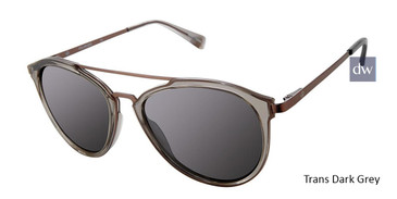 Trans Dark Grey Sperry STRIPER Polarized Sunglasses.