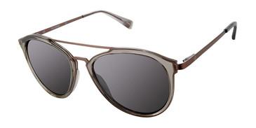Trans Dark Grey Sperry STRIPER Polarized Sunglasses.