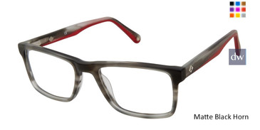 Matte Black Horn Sperry TIDEBEACH Eyeglasses.