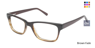 Brown Fade Vision's 204 Eyeglasses.