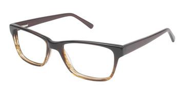 Brown Fade (c02) Vision's 204 Eyeglasses.