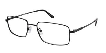 Matte Black (c03) Vision's 216 Eyeglasses.