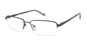 Semi-Matte Blk (c01) Vision's 231 Eyeglasses.