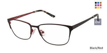 Black/Red Vision's 236 Eyeglasses.