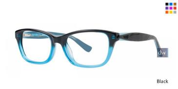 Black Kensie Daring Eyeglasses