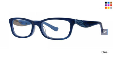 Blue Kensie Bloom Eyeglasses