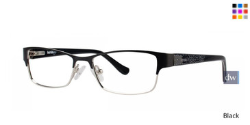 Black Kensie Fancy Eyeglasses - Teenager