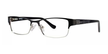 Black Kensie Fancy Eyeglasses - Teenager