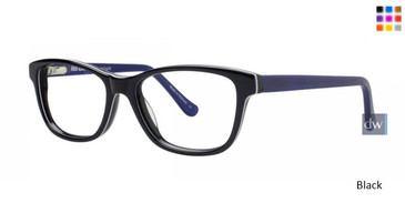 Black Kensie Delight Eyeglasses - Teenager