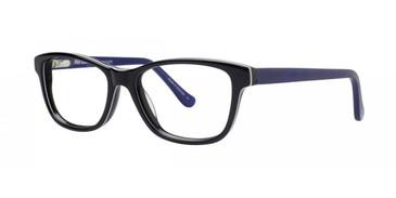 Black Kensie Delight Eyeglasses - Teenager