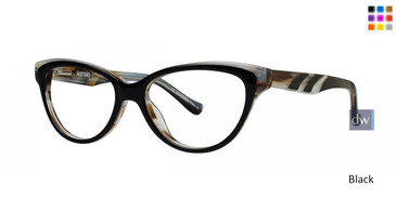 Black Kensie Glee Eyeglasses - Teenager