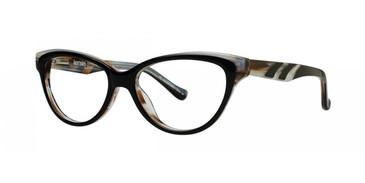 Black Kensie Glee Eyeglasses - Teenager