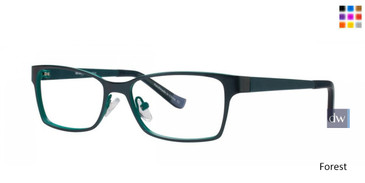Forest Kensie Artist Eyeglasses - Teenager