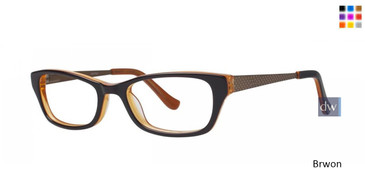 Brown Kensie Painter Eyeglasses