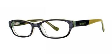 Gray Kensie Peace Eyeglasses - Teenager