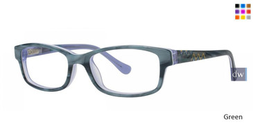 Green Kensie Brave Eyeglasses - Teenager