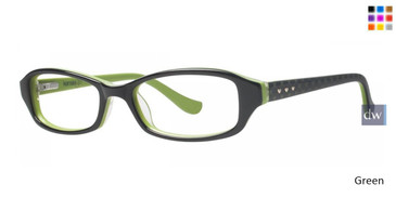 Green Kensie Secret Eyeglasses - Teenager
