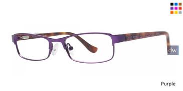 Purple Kensie Girls RX Bright Eyeglasses - Teenager