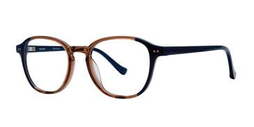 Brown Kensie RX Abstract Eyeglasses - Teenager