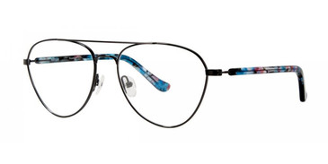 Black Kensie RX Flourish Eyeglasses