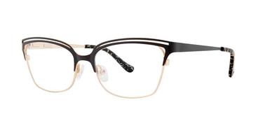 Black Kensie RX Edgy Eyeglasses