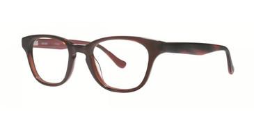 Brown Kensie RX Contrast Eyeglasses - Teenager