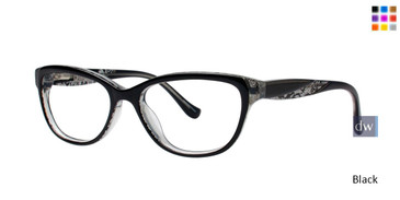 Black Kensie RX Lace Eyeglasses - Teenager