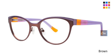 Brown Kensie RX Celebrate Eyeglasses