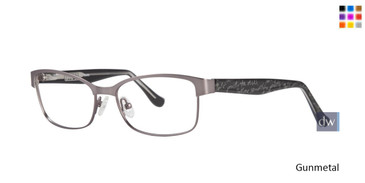 Gunmetal Kensie RX Quote Eyeglasses - Teenager
